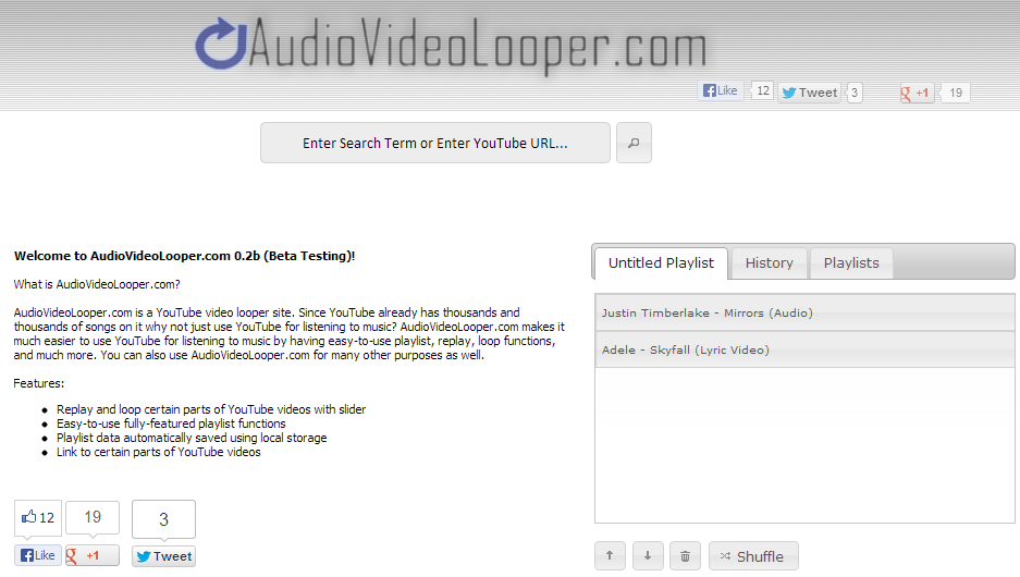 Audio Video Looper