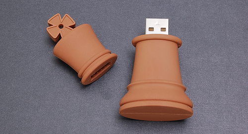Chess Piece King USB Drive by Vadim Molochnikov