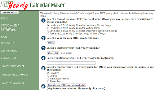 6 free online calendar makers