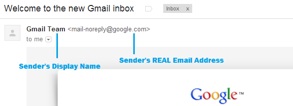 How To Identify Sender's Email Address