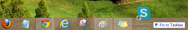 Pin Software To Taskbar