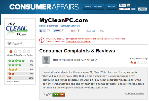 ConsumerAffairs: Consumer Complaints and Reviews