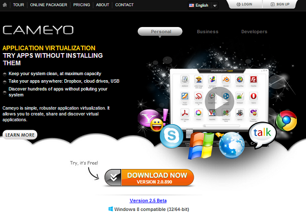 How To Make Portable Apps Using Cameyo