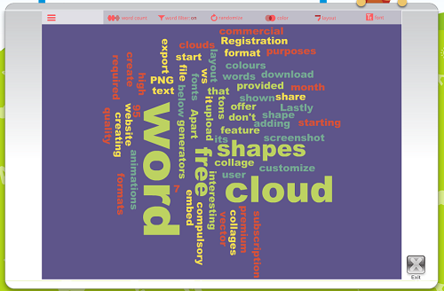 ABCYa! Word Clouds for Kids!