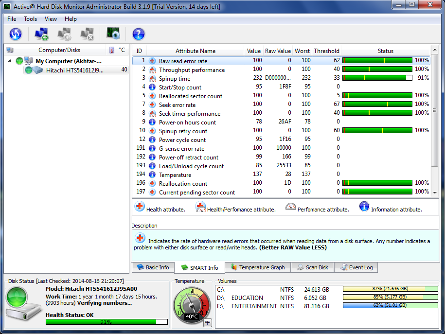 Top 7 S M A R T  Monitoring Software Tools For Windows