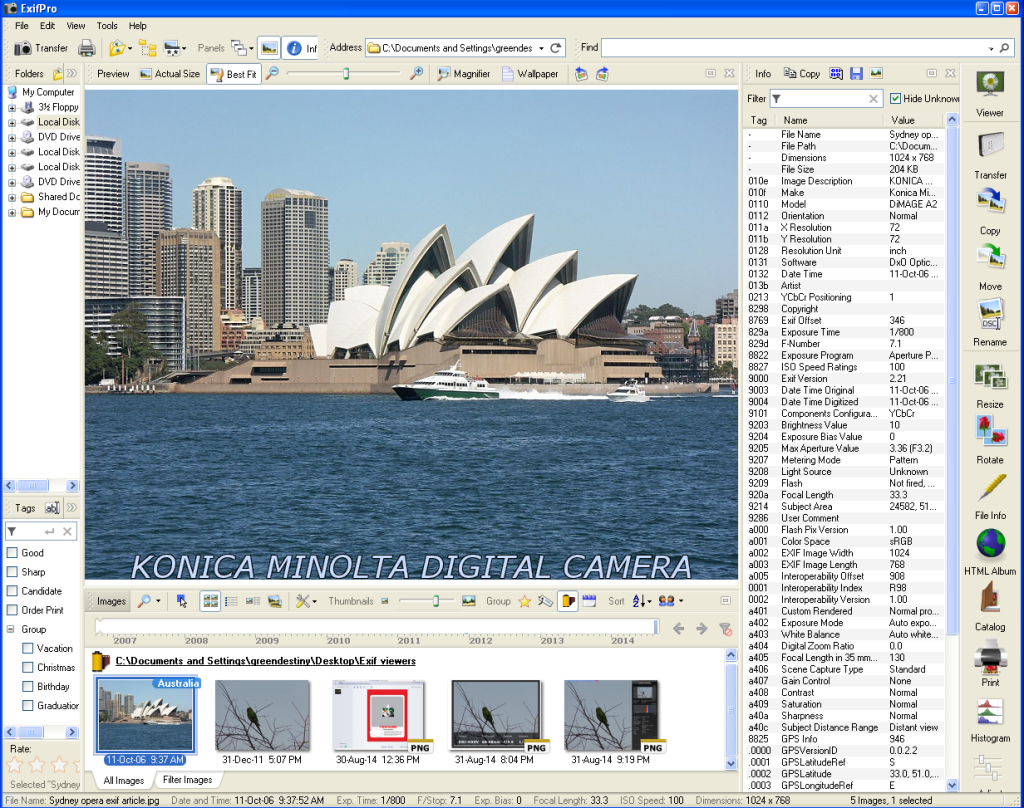 10 Best Exif Viewers To Read Photo Details Effortlessly