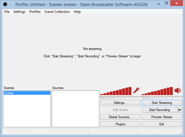 stream software for games free