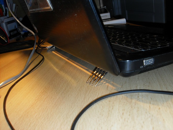 Your laptop is overheating? Place 2 forks underneath.