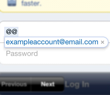 "Set ""@@"" as the keyboard shortcut for your email address. Now you don't have to type your email again and again."