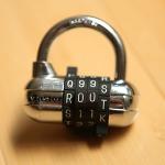 Master lock with root password by Scott Schiller