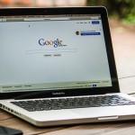 Google Homepage on Macbook